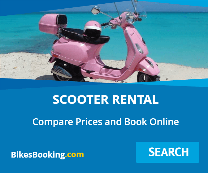 Scooter Rental and Car Rental